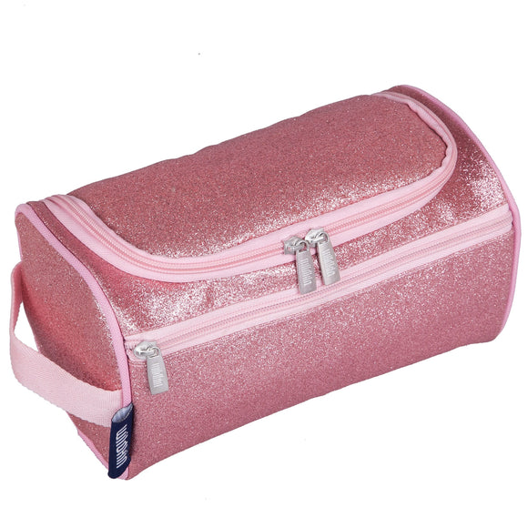 Pink Glitter Toiletry Bag