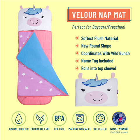 Wild Bunch Unicorn Plush Nap Mat