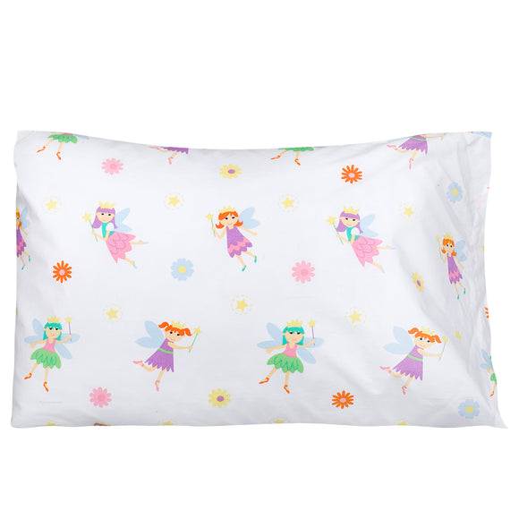 Fairy Princess 100% Cotton Pillowcase