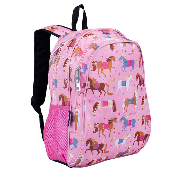 Horses 15 Inch Backpack