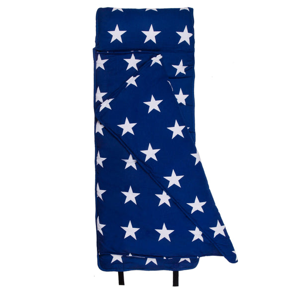 Blue and White Stars Original Nap Mat