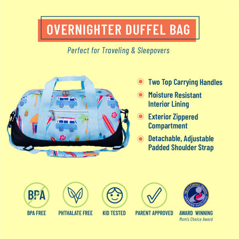 Surf Shack Overnighter Duffel Bag