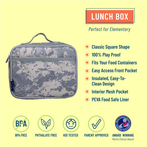 Digital Camo Lunch Box