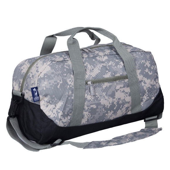 Digital Camo Overnighter Duffel Bag