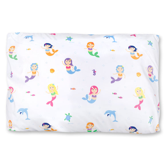 Mermaids Microfiber Pillow Case