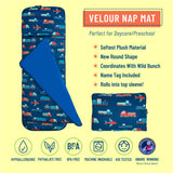 Modern Transportation Plush Nap Mat