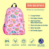 Paisley 15 Inch Backpack