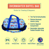 Trains, Planes & Trucks Overnighter Duffel Bag