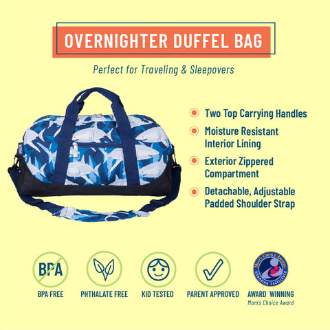 Sharks Overnighter Duffel Bag