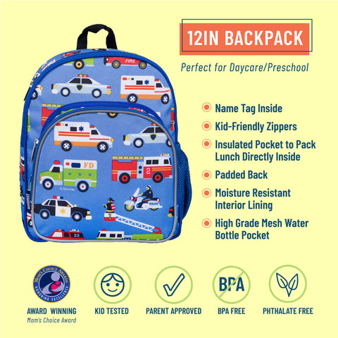 Heroes 12 Inch Backpack