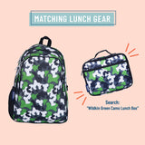 Green Camo 15 Inch Backpack
