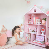 Dollhouse Bookcase - Pink