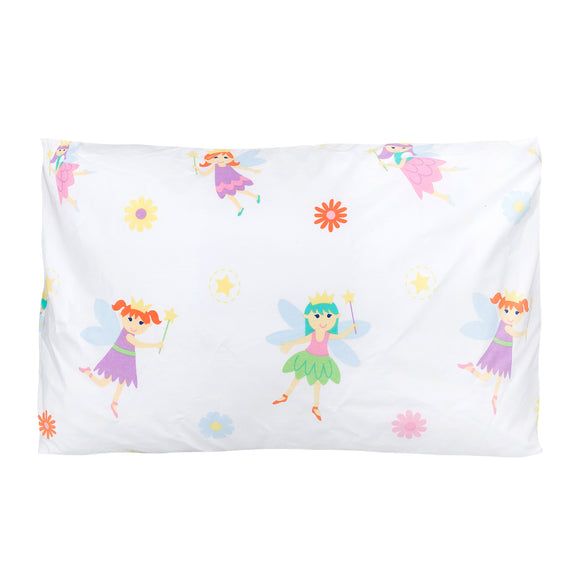 Fairy Princess 100% Cotton Hypoallergenic Pillow Case