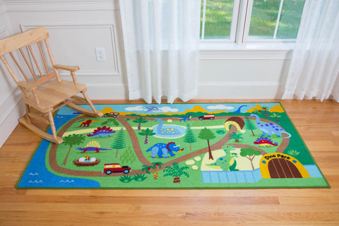Dinosaur Land Play Rug