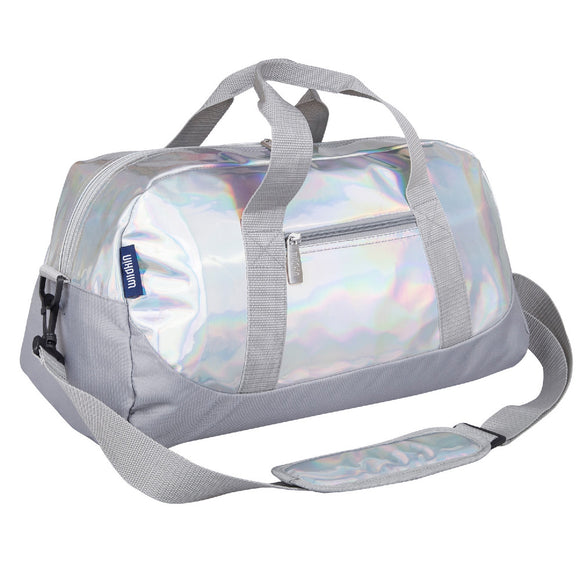 Holographic Overnighter Duffel Bag