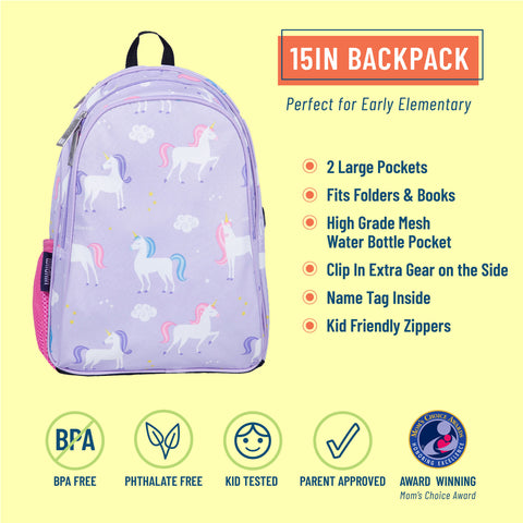 Unicorn 15 Inch Backpack