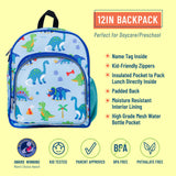 Dinosaur Land 12 Inch Backpack