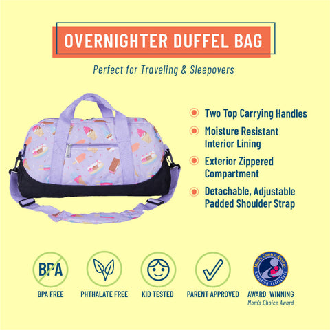 Sweet Dreams Overnighter Duffel Bag