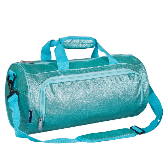 Blue Glitter Dance Bag