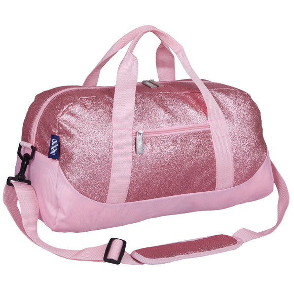 Pink Glitter Overnighter Duffel Bag