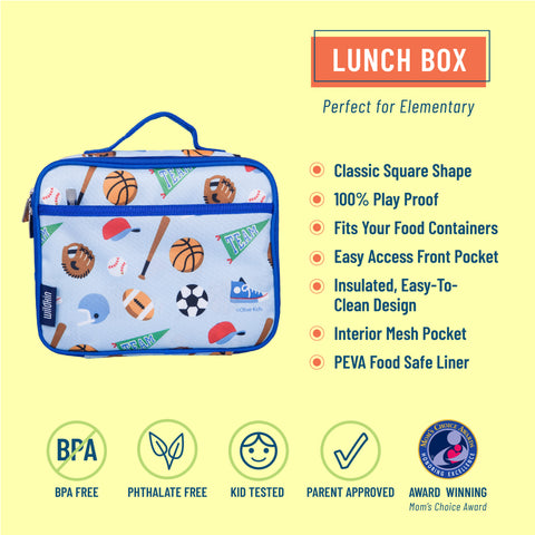 Game On Lunch Box