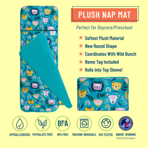 Party Animal Plush Nap Mat