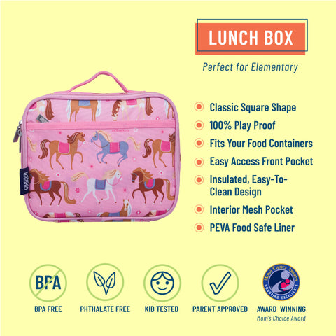 Horses Lunch Box