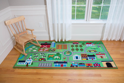 Farm Land Play Rug