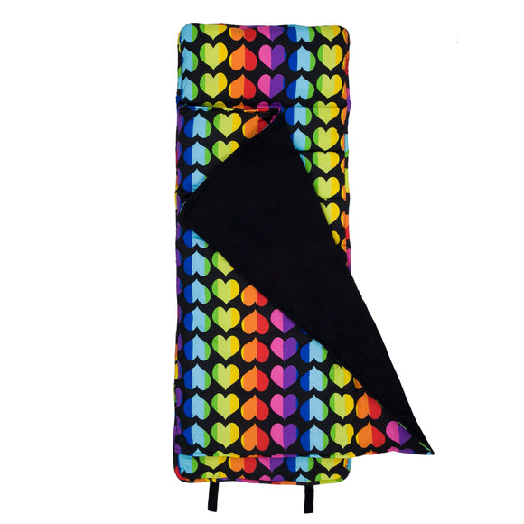 Rainbow Hearts Original Nap Mat