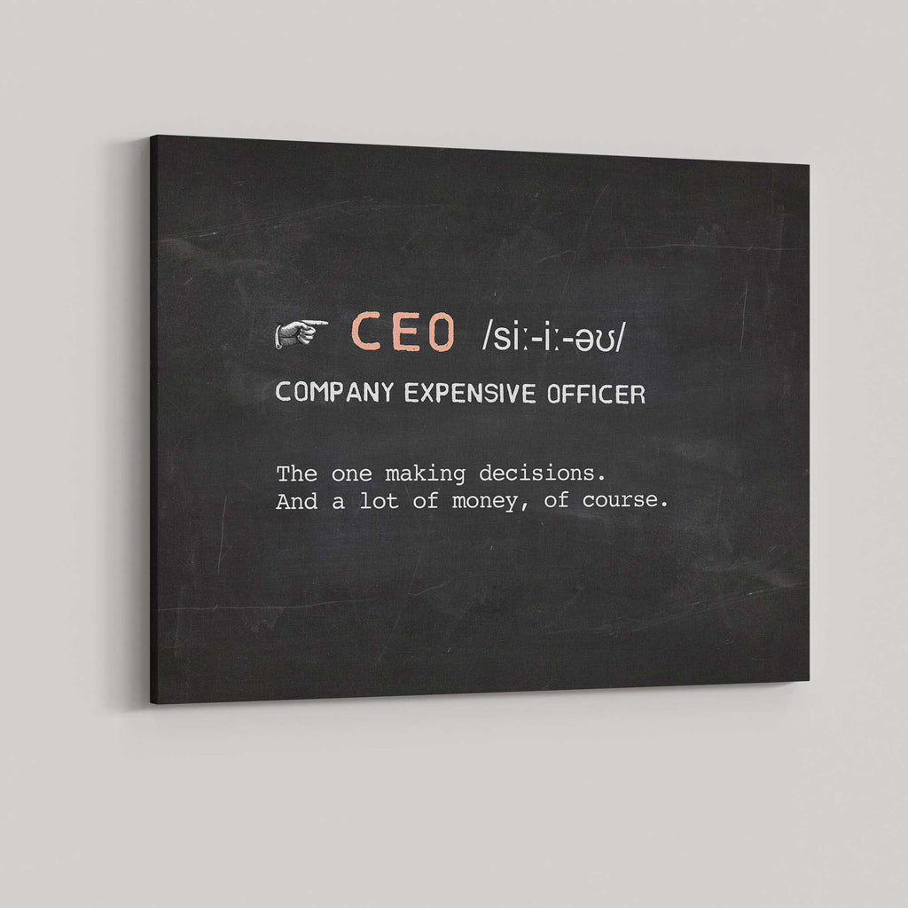 CEO (Company Expensive Officer)