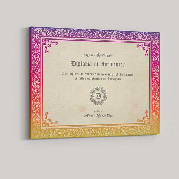 Diploma of Influencer
