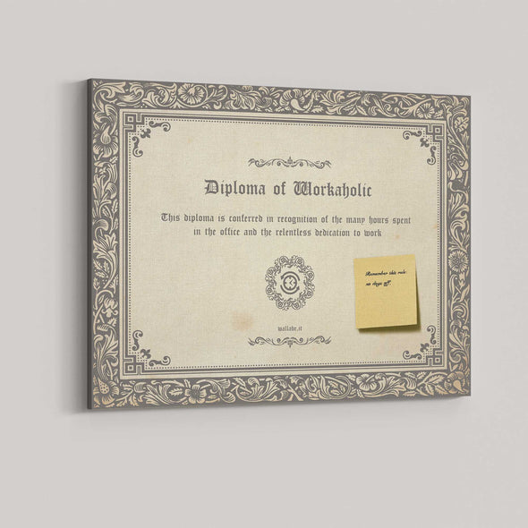 Diploma of Workaholic
