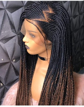 Load image into Gallery viewer, Ready to ship Zizag cornrow wig