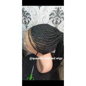 Shuku ponytail Cornrow Wig