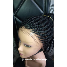 Load image into Gallery viewer, Shuku ponytail Cornrow Wig