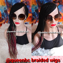 Load image into Gallery viewer, Base braided Cornrow Wig