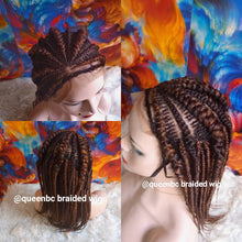 Load image into Gallery viewer, Tiny weave Cornrow Wig
