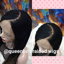 Load image into Gallery viewer, C curve Cornrow Wig