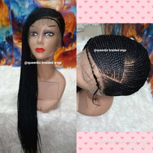 Load image into Gallery viewer, Lemonade  braids  lace Cornrow Wig
