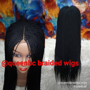 Ready to ship senegalese twist braids wig