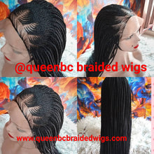 Load image into Gallery viewer, two step Cornrow Wig