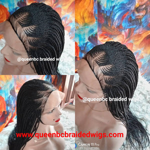 Two step Cornrow Wig