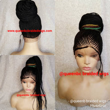 Load image into Gallery viewer, Gucci Ponytail Cornrow Wig