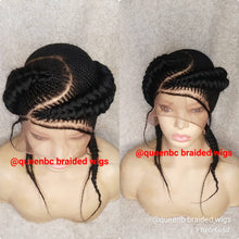 Load image into Gallery viewer, Jumbo undo  Cornrow Wig
