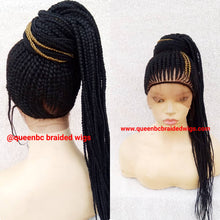 Load image into Gallery viewer, New  ponytail style Cornrow Wig