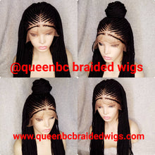 Load image into Gallery viewer, Frontal Cornrow Wig