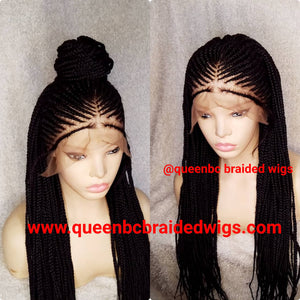 Frontal Cornrow Wig