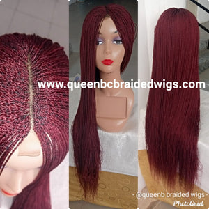 Ready to ship Micro twists braided wig