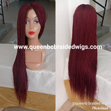 Load image into Gallery viewer, Ready to ship Micro twists braided wig