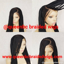 Load image into Gallery viewer, C frontal cornrow wig